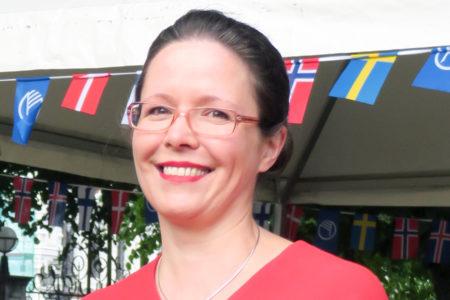 Kuvassa Anu Heinonen