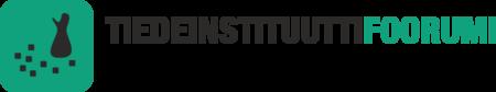 Tiedeinstituuttifoorumin logo